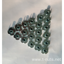 Stamping  Furniture carbon steel T- nuts
