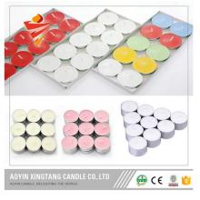 Aluminium Tins Tea Light Candles