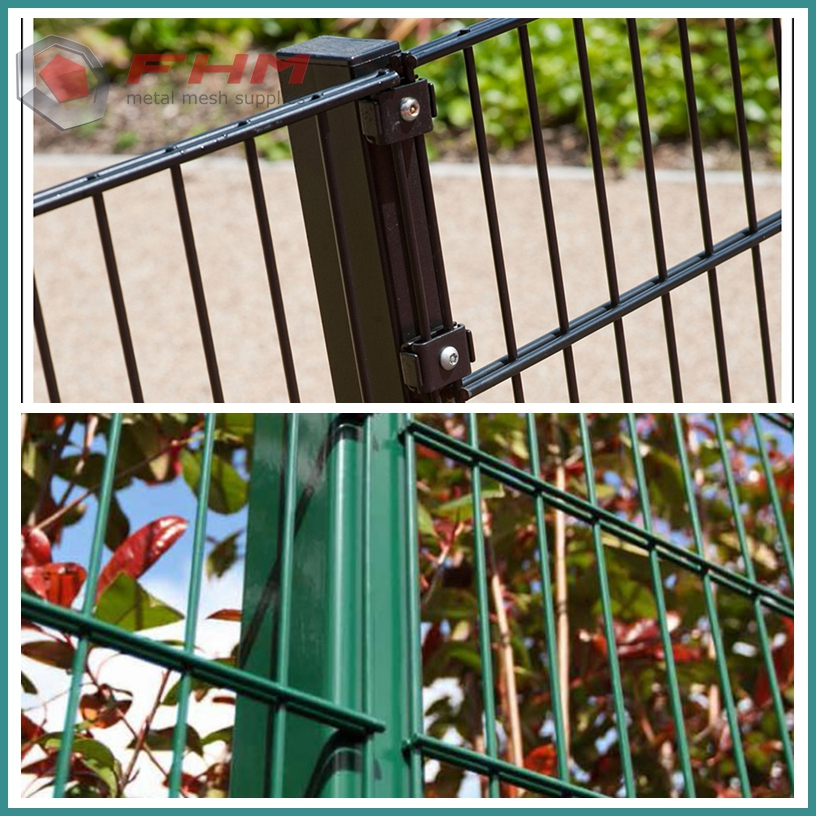 double welded fence