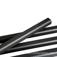 30X20X1400mm 1.0mm thickness carbon fiber octagonal tube