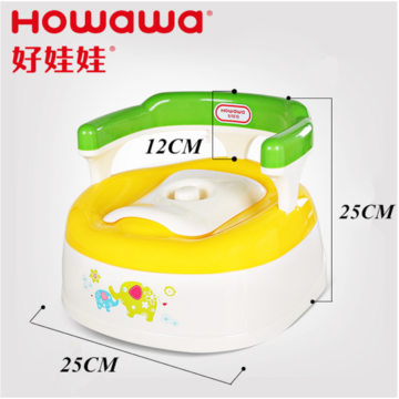 Plastic Baby Potty Chair Infant Training Closestool