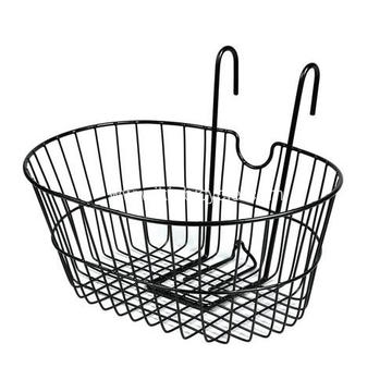 Factory selling for Bicycle Basket And Fittings Net Type Handlebar Basket for City Bike supply to Niger Supplier