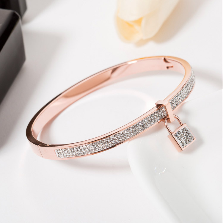 Crystal Bangle Bracelet