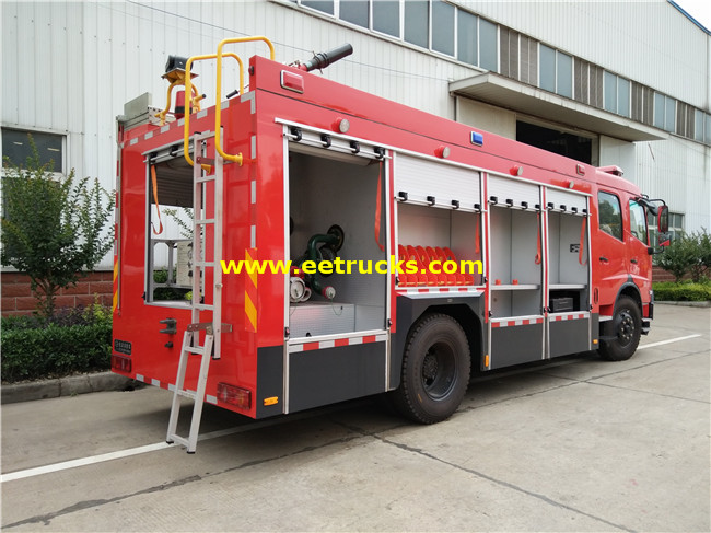 Combined Fire Fighting Trucks