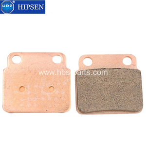 Sintered brake pads for KAWASAKI and SUZUKI