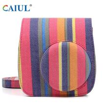Colorful stripe Pattern Camera Bag