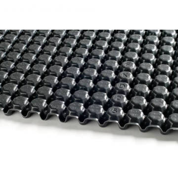 Dimpled HDPE Drainage Board with Geofabric