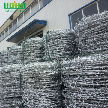 Hot dipped galvanized twist barbed wire