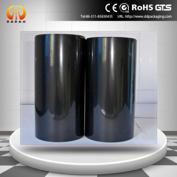 black opaque polyester film 0.1mm