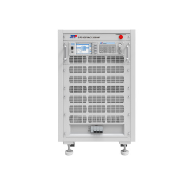 Programmable 3 phase ac power supply system
