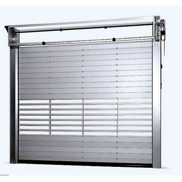 High Speed Aluminum Alloy Turbine Shutter Door