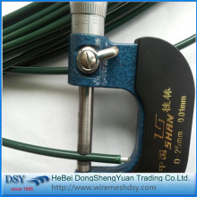PVC coated Green wire for florist