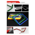 A3 A4 A5 A6 ABS plastic document frames