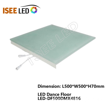 500*500mm Music DMX Video Led Dance Floor Light