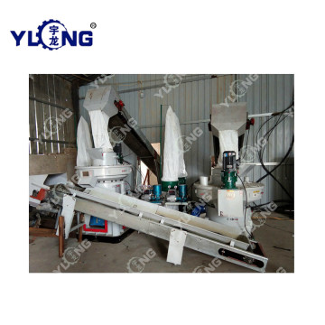 Wood Shavings Pellet Pressing Machine