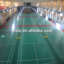 China Supplier for Wood Color Pvc Sports Flooring PVC Sports flooring for badminton flooring supply to Fiji Manufacturer