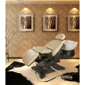 Luxury barber shampoo bed for salon