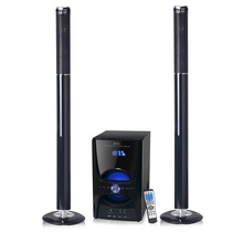 Professional for 2.1 Stereo Speaker Wooden bluetooth tower speaker with sd remote supply to India Wholesale