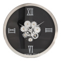 14 inch round living room wall clock