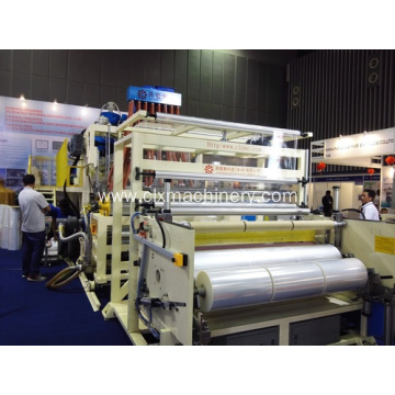 Newet Model PE Plastic Wrapping Film Making Machine