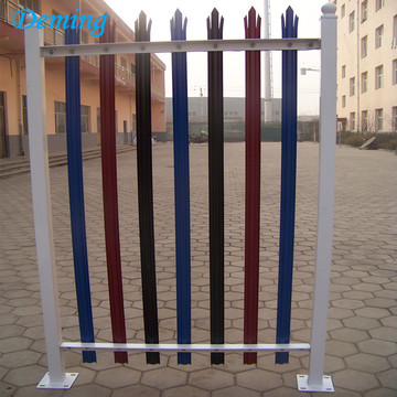 Wholesale Colorful Security Palisade Fence