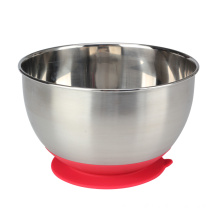 China for Mixing Bowl Set,Mixing Bowl ,Stainless Steel Mixing Bowls Manufacturers and Suppliers in China New Design Mixing Bowl with Suction Cup Bottom export to Italy Exporter