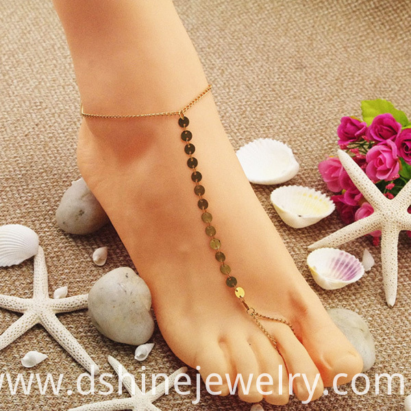 Hot Fashion Gold Anklets For Women