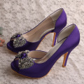 Wedopus Best Wedding Shoes with Crystals