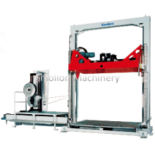 Factory source for Vertical Strapping Machine Fully Automatic Pallet Strapping Machine with CE supply to Sierra Leone Supplier
