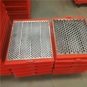 Quarry shaker steel Sheet Piercing Mesh