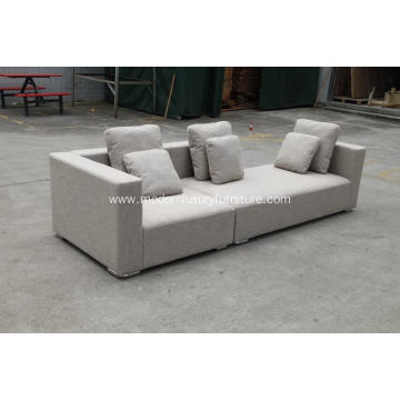Minotti Donovan modern sofa in fabric