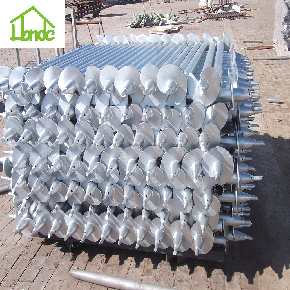 Honde Screw Pile as Foundation