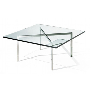 Tempered glass top Barcelona Coffee Table