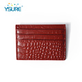 2019 Custom Designer Leather Visa Card Holder