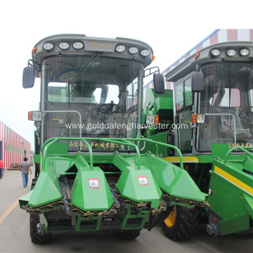 self propelled maize combine harvester working for sale