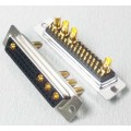 36W4 Straight Solder Standard Power D-SUB Connector Female