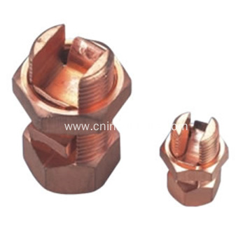 T/ J Imported Copper Split Bolt