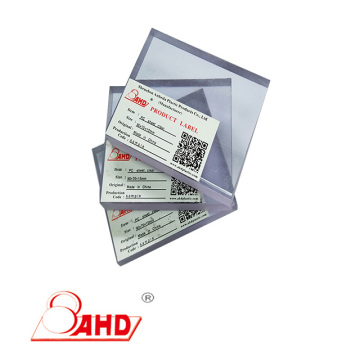 Thickness 3-150mm Polycarbonate PC Sheet