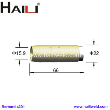 "4391 Brass Nozzle 5/8"" for Bernard"