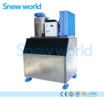 Snow world 1T Flake Ice Machine Sea Water