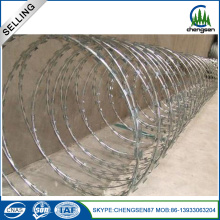 SS304 Galvanized Cross Razor Barbed Wire