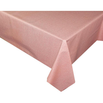 Elegant Tablecloth with Non woven backing Zippered