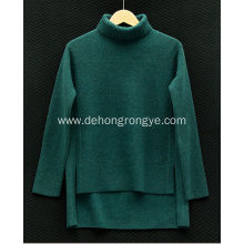 Good Quality for Women`S Cashmere Sweater,Women'S Grey Cashmere Sweater,Ladies Cashmere Sweater,Long Sleeve Cashmere Sweater Manufacturer in China High-necked cashmere women's sweater export to Congo, The Democratic Republic Of The Exporter