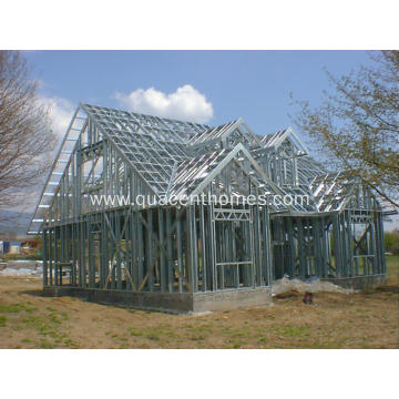 High Quality Light Gauge Steel Prefab house