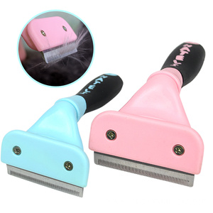 Top for Pet Brush,Pet Scissors,Pet Grooming Brush Manufacturers and Suppliers in China Grooming Brush Tool Hair Removal Cleaning export to French Polynesia Exporter