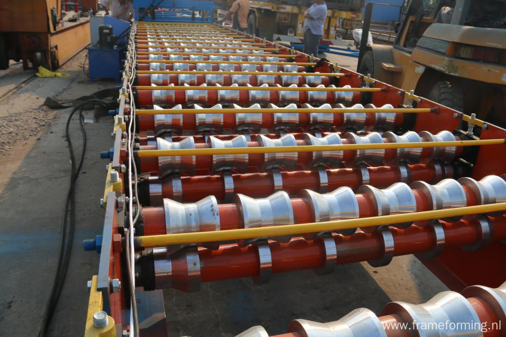 Metal Roof Panel Machine Tile Roll Forming Mahcine