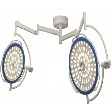 Dual lamp head LED surgical light