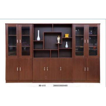 Wood Media Storage Wall Cabinet