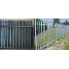 Low Cost for Palisade steel fence Details palisade fence gateS supply to Libya Manufacturer
