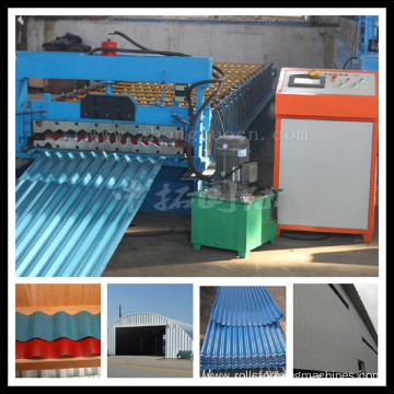 Steel Corrugated Roofing Roll Forming Machine